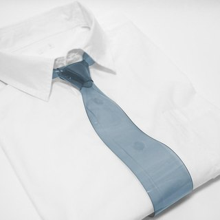 "Transparent Necktie ""EUREKA"" (Polar Night)"