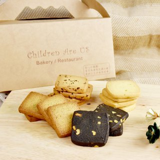 Magpie. Handmade biscuits [Happy afternoon tea group -50 pieces / box] single piece packaging