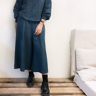 [ Wide pants 01] small A modified wide pants
