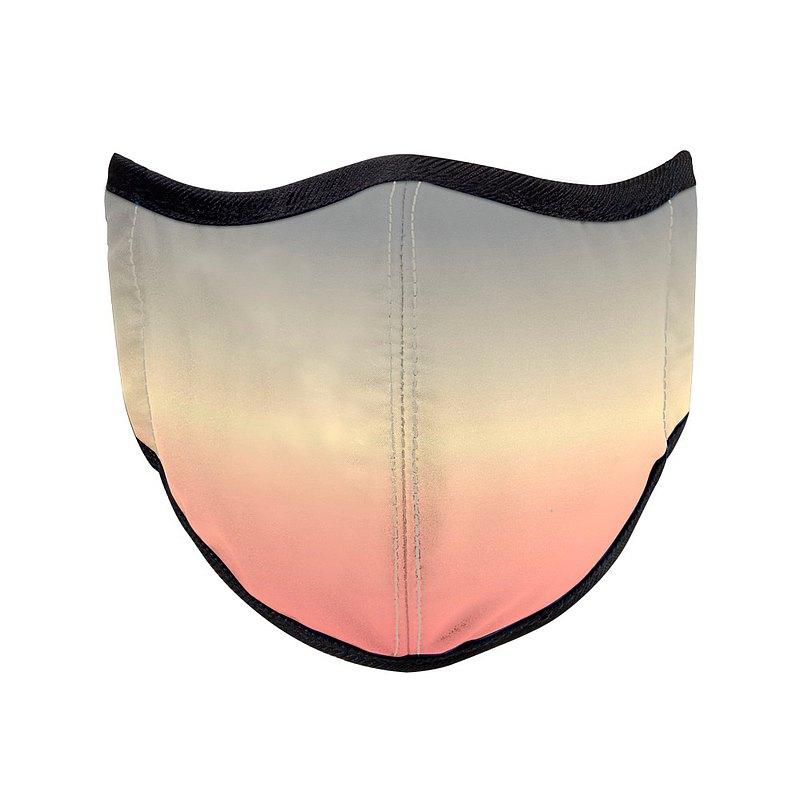 台灣製造MIT 高抗菌高透氣可水洗 天空系列_餘暉_防護布口罩