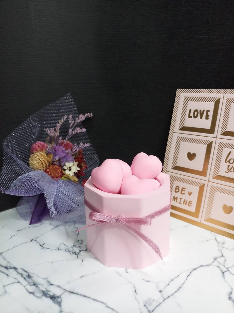 """Fat Heart"" Potted Aroma Stone - Valentine's Day Gift ~ Suitable for Various Festival Gifts - Spreading"