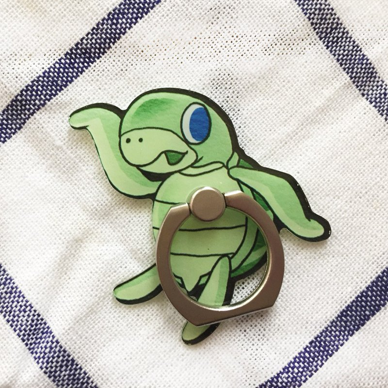 JB Design-style mobile phone holder - strolling turtle