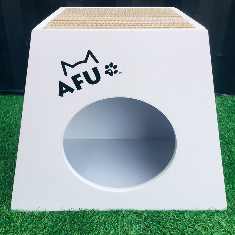 [AFU] Ultra Durable White Grab Chalet