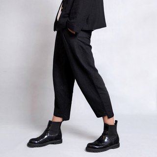 Yunnan hemp casual asymmetrical pants