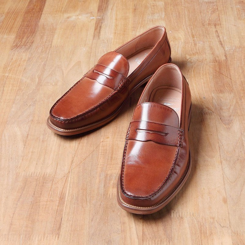 Vanger Lohas Yashi Shallow Loafers Va233 Coffee