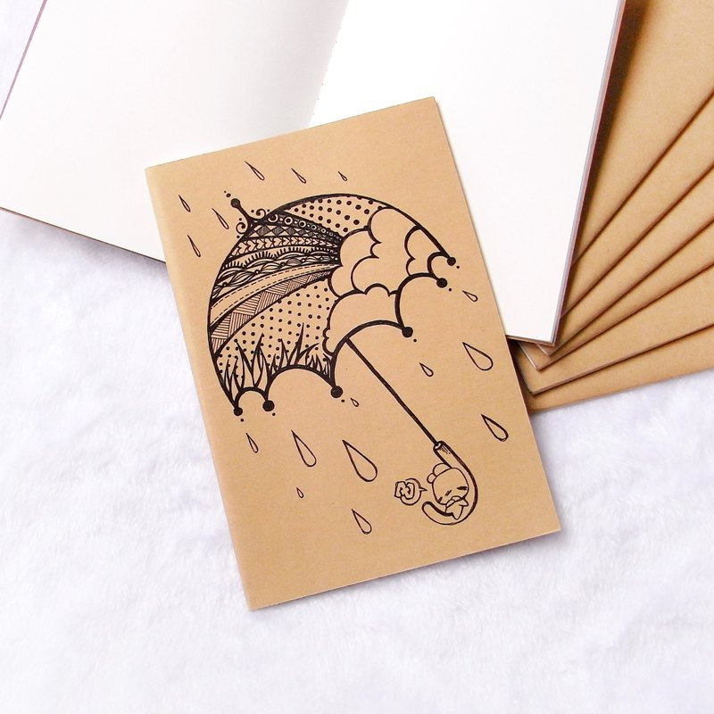 Notebook - After Rain Comes Rainbow - A5 - by WhizzzPace