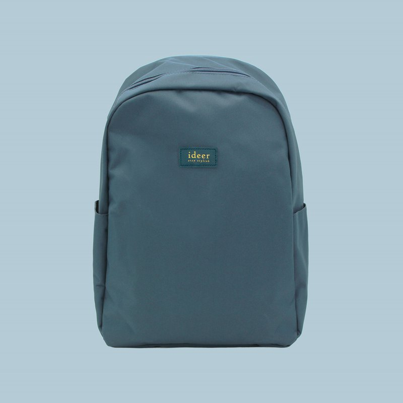 Lake water blue green anti-splashing nylon anti-theft backpack notebook computer backpack computer bag travel bag