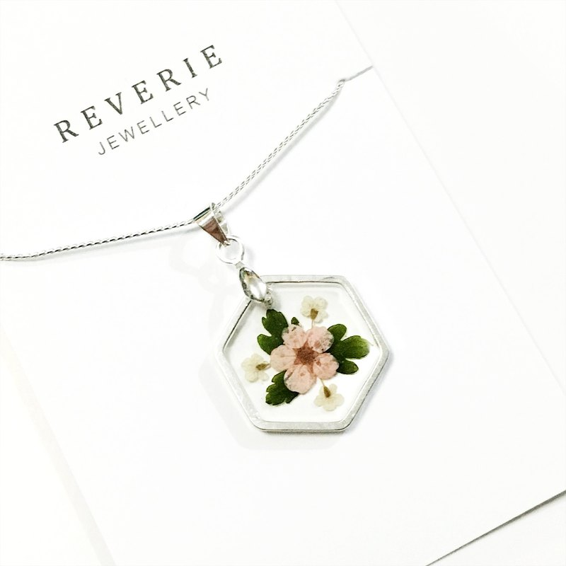 Ultra Thin Hexagon Necklace