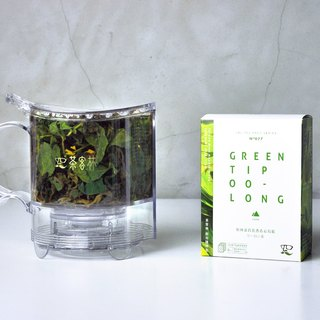 [Good pot + Shu bubble with the package] fir forest flowers hundred green flowers Oolong 10gx6 into the package