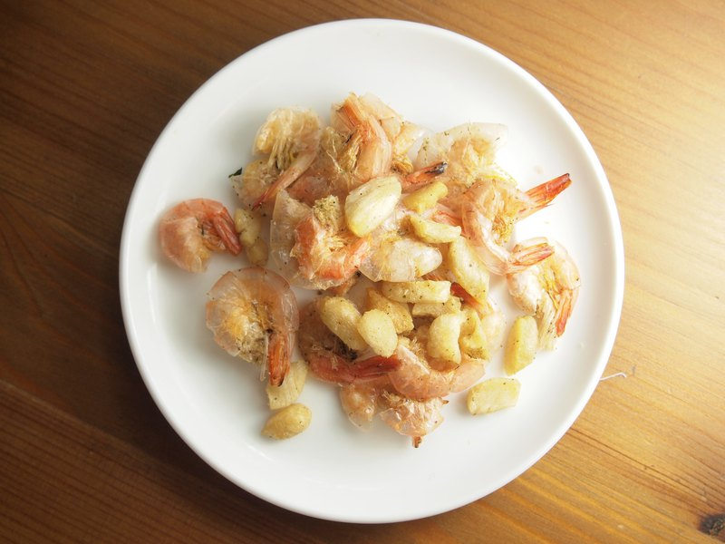 [Cat's appetizer snack series] scallops and shrimps