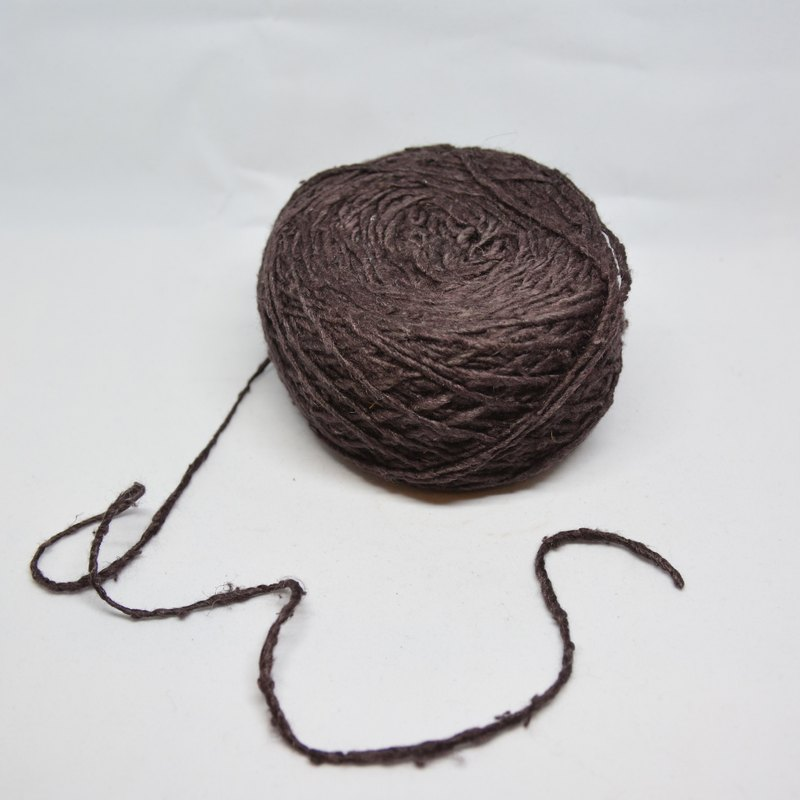 Hand Twist Banana Silk - Dark Coffee - Fair Trade