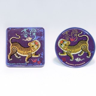 Taiwan Democracy (Day/Night) Group [Taiwan Impression Square Coaster]