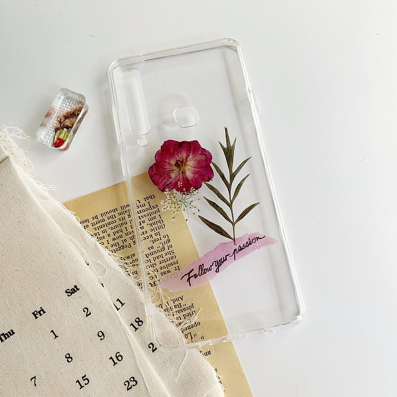 Pressed flower phone case - IPHONE 6 Plus Exclusive
