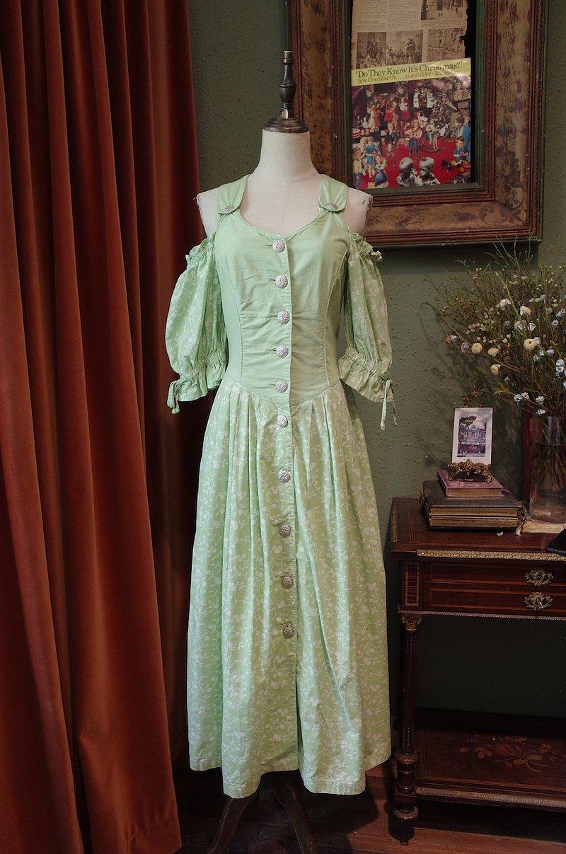 vintage dress德國制傳統dirndl連衣裙古著洋裝