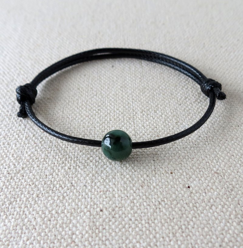 The birth year [lucky stone] Huaqing jade Korean wax line bracelet ** anti-small, evil spirits, body protection