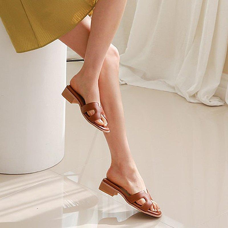 PRE-ORDER韓國人手製 MACMOC Single Brown 涼鞋