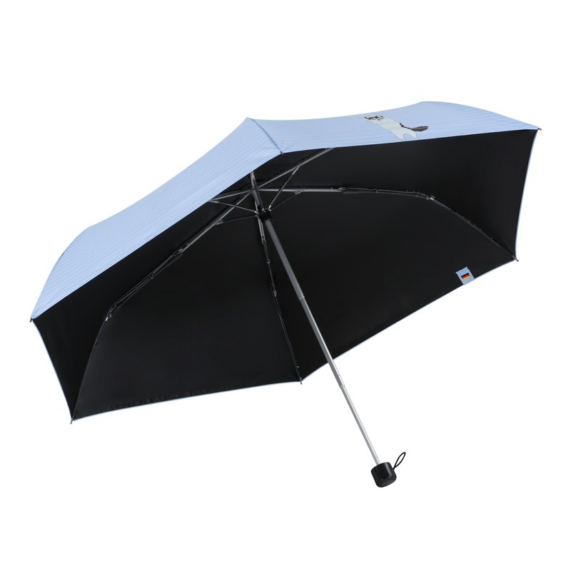 Boy Sled Dog Light Umbrella-By3058 Enamel Blue