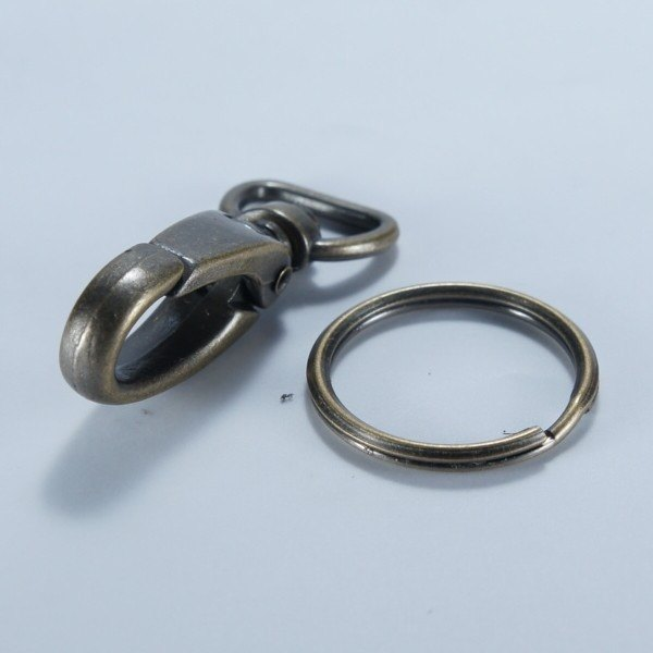Car key bag hook buckle ring bronze - add goods 1 36 yuan / month