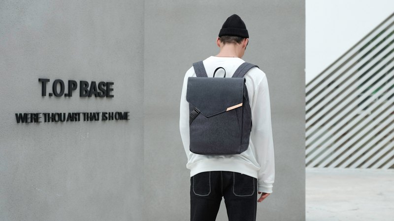 Urbanature-Geo Backpack minimalist urban backpack