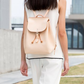 JulyChagall July summer carnation leather hand-stitched tentacles backpack