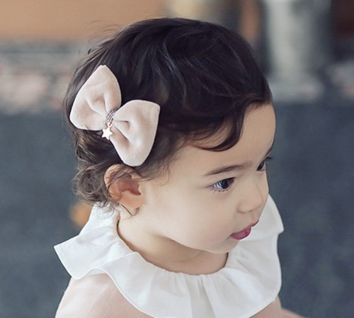Happy Prince Priel velvet baby girl hairpin made in Korea
