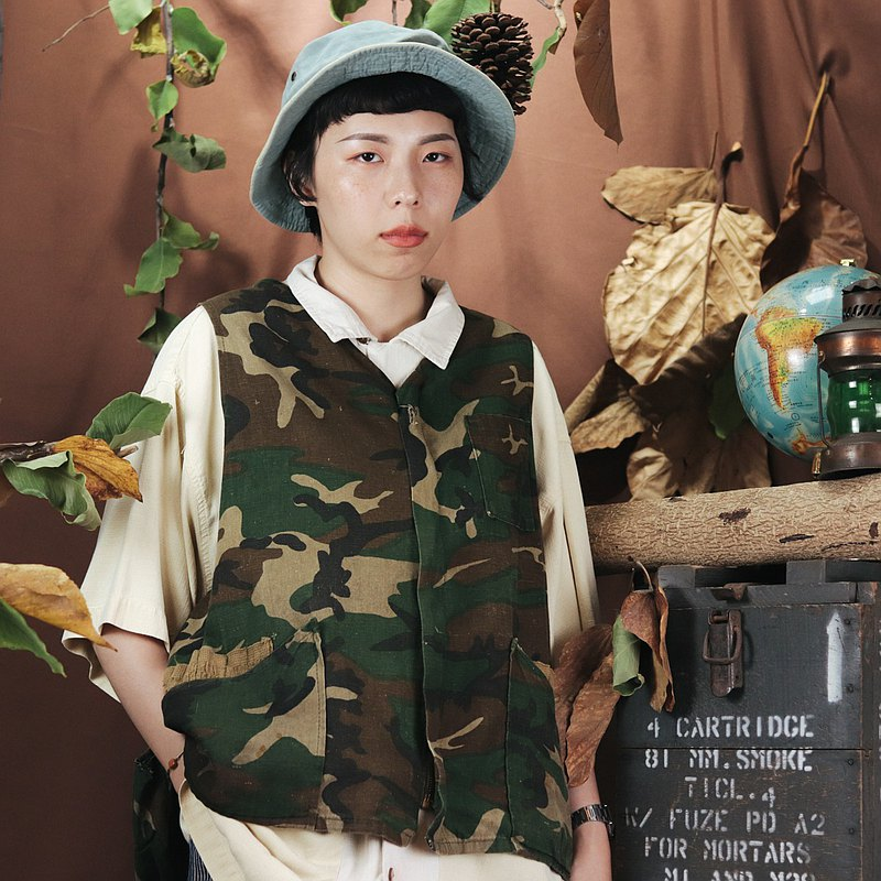 Tsubasa.Y ancient house 001 camouflage hunting vest, vest hunting accessories vest