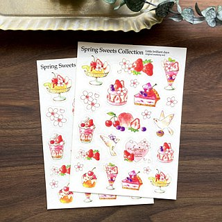 マスキングシール Spring Sweets Collection
