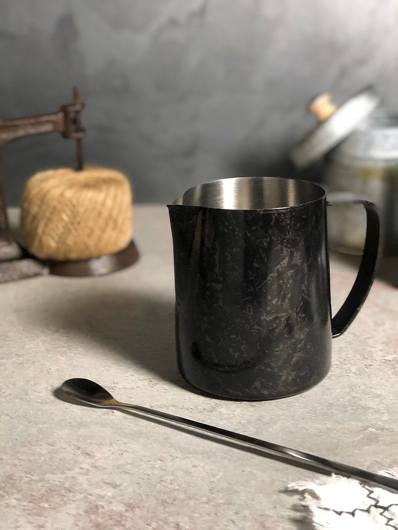TBG forged carbon hand-drawn steel cup