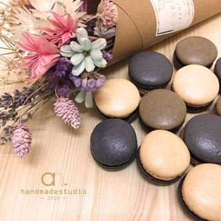 Plain color Macaron 6 into the group (do not pick color) by anPastry