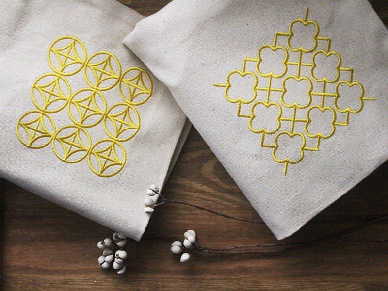 Blossom - Eco bag (Lucky coin pattern)