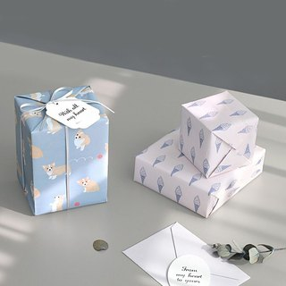 ICONIC Heart belongs to you - Gift Wrapping Paper Group Ver2- A , ICO52002