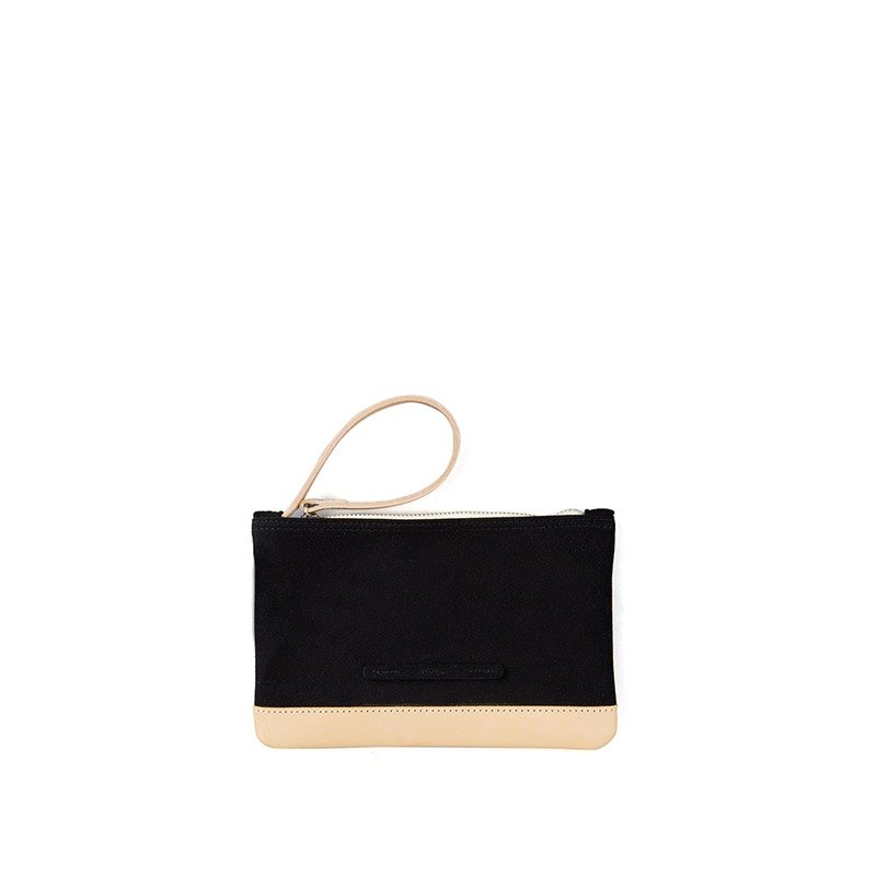 Suede Series - Mini Fashion Clutch - Carbon Black - RAC211BK