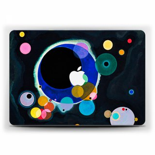Macbook case Pro 15 touch bar Case Kandinsky MacBook Air 13 black Case Macbook 11 Macbook 12 Macbook Pro 13 Retina classic art Hard Plastic 1716