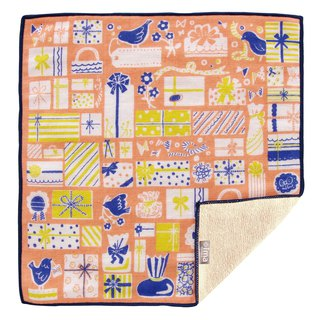【IMA】WAFUKA Japan made Gift Absorben, Soft, Cute & Unique Handkerchief- Birds