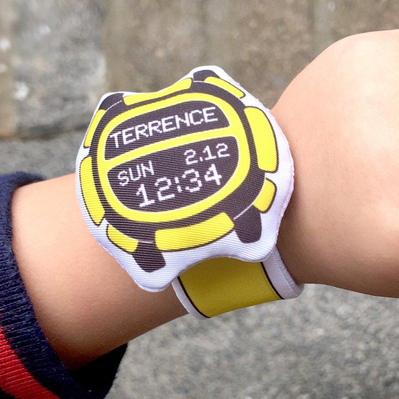 我的第一隻布手錶(客製化)My first Baby Watch (D09A11)
