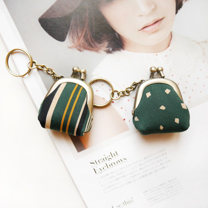 Charlotte's good friend Linglongkou gold bag / key ring / wedding small things [made in Taiwan]