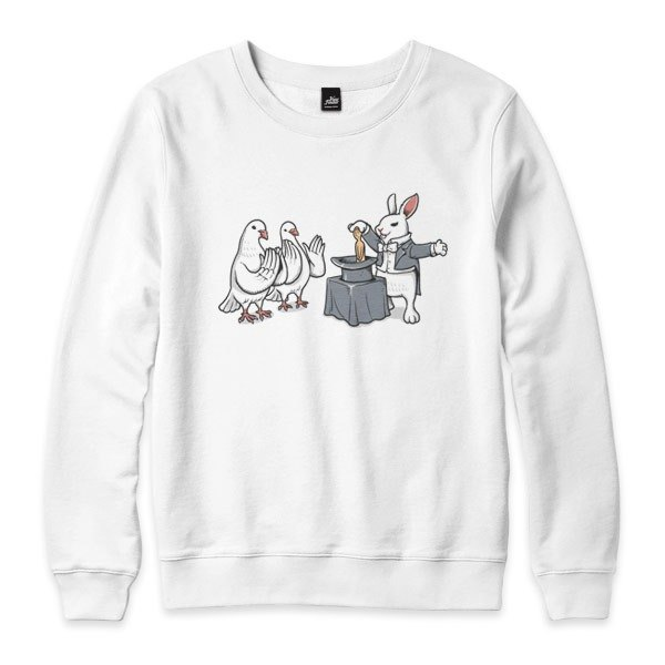 Rabbit's Revenge - white - neutral version University T