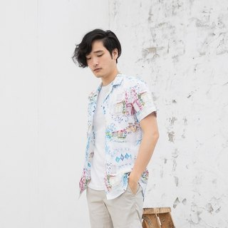 Water color - print shirt  color