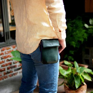 Metropolitan Japanese men's leather pocket Made in Japan by by LESS DESIGN