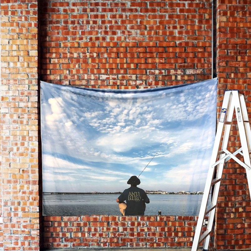 免費訂製你的專屬壁幔 家飾 布幔 BM09 釣客 Wall Tapestry