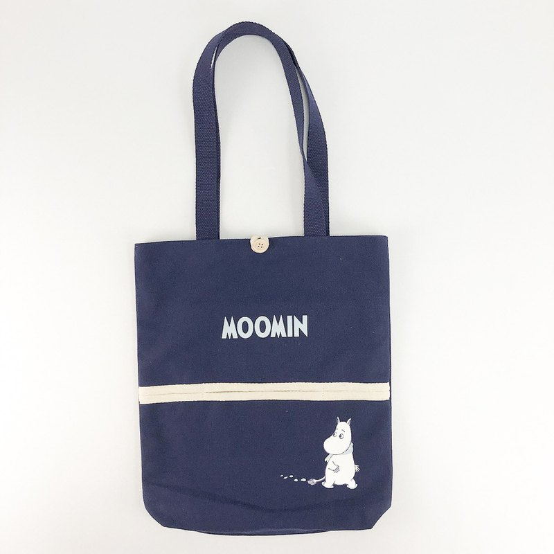 Moomin Moomin authorized - Wen Qingfeng handbag (blue), CB16AE03