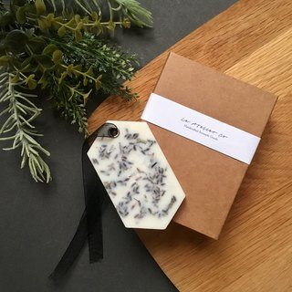 Scented Soy Wax Sachet Brick | Lavender | Air Freshener | Handmade | Diffuser