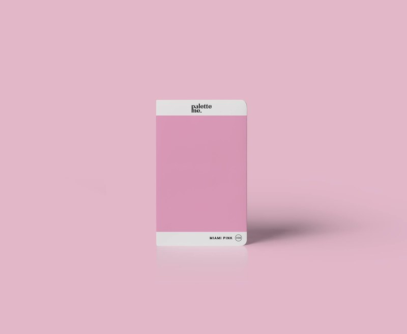 008 Miami Pink - Palette Me Mini Notebook A6