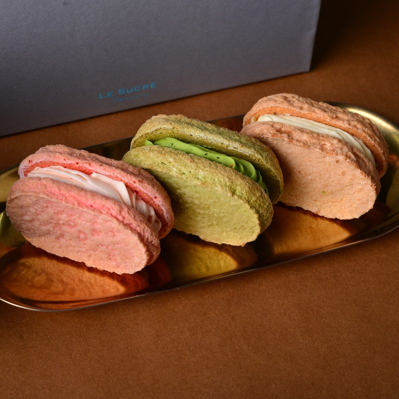 Internet popularity recommendation - Dakwaz 6 into the gift box rose raspberry / vanilla lemon / double matcha