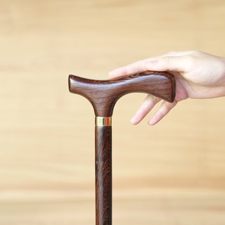 Wooden cane own brand * wild chicken wing wooden gentleman cane (for men and women)