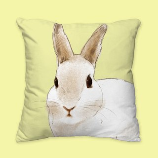 [I will love you forever] classic rabbit rabbit pillow animal pillow / pillow / cushion