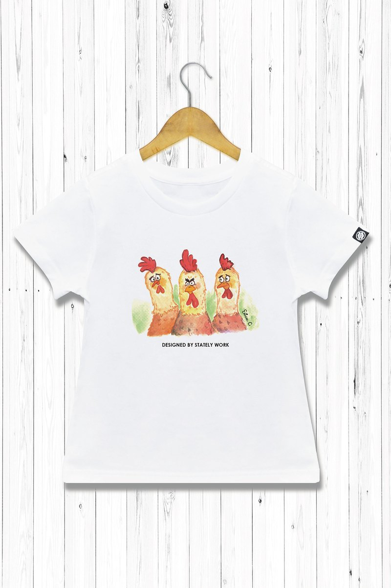 STATELYWORK Disgusting Zodiac - Chicken - Men's and Women's White T-Shirt