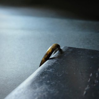 【 False Gold 】 sterling silver ring