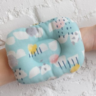 Mi Yue Li - Yamagata Rain Blue Baby Pillow - Breastfeeding Pillow