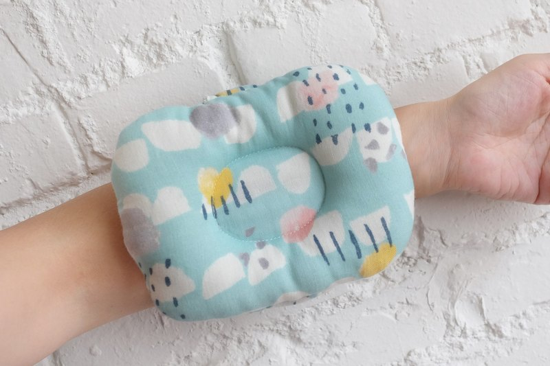 Mi Yueli - Yamagata Rain Drip Blue Baby Hand Pillow - Breastfeeding Pillow